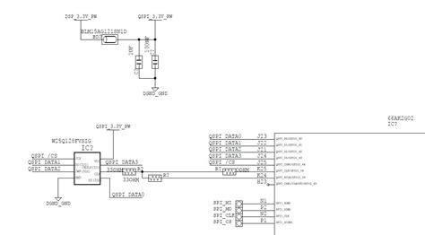 spi layout guidelines 66ak2g02 resistor should be connected for spi clk