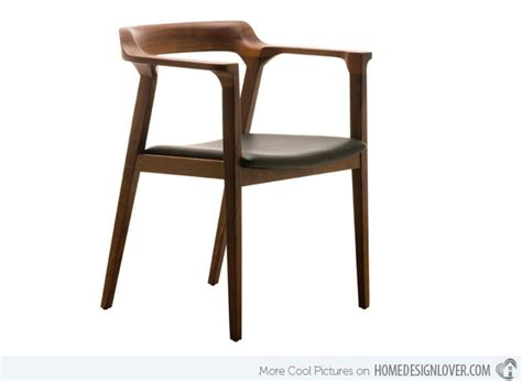 15 sleek contemporary wooden dining chairs