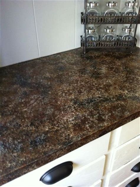 Diy Formica Countertops by Painted Formica Countertop Diy Diy Countertops