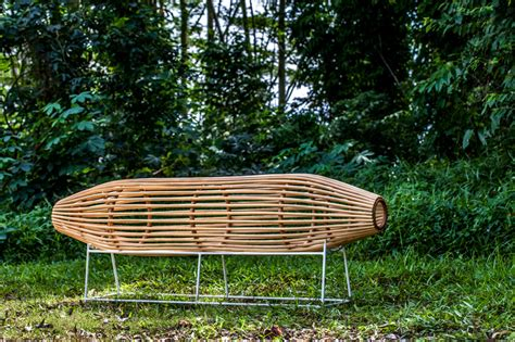 designboom benches lanzavecchia wai bubu bench and bilik room divider