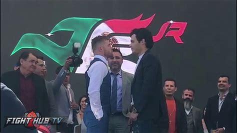 proxima pelea de canelo canelo alvarez vs julio cesar chavez jr kick off press