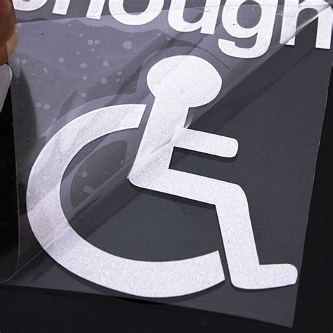 Aufkleber Entfernen Auto Glass by Rollstuhl Aufkleber Online Ich Myxlshop Tip