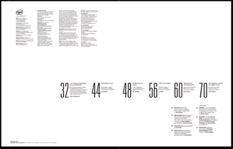 design inspiration table of contents 30 eye catching table of contents designs best design