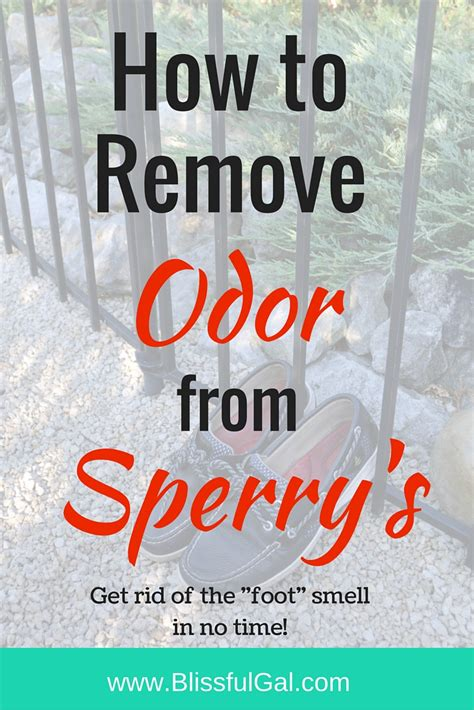 Remove Smell From by 5 Ways To Remove Odor From Sperry Top Siders Blissful Gal