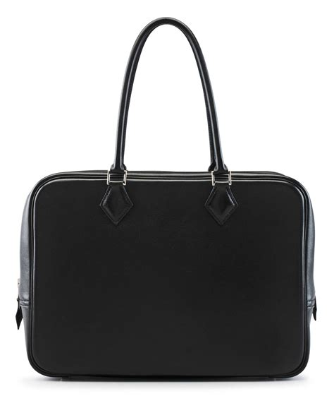 Plume Bag From Mad Imports by A 32cm Black Gulliver Leather Plume Bag Herm 200 S 1999