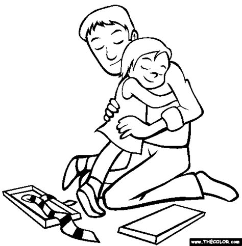 father s day online coloring pages page 1