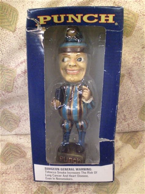 mr t bobblehead ebay classic mr punch cigar bobblehead pre owned in original