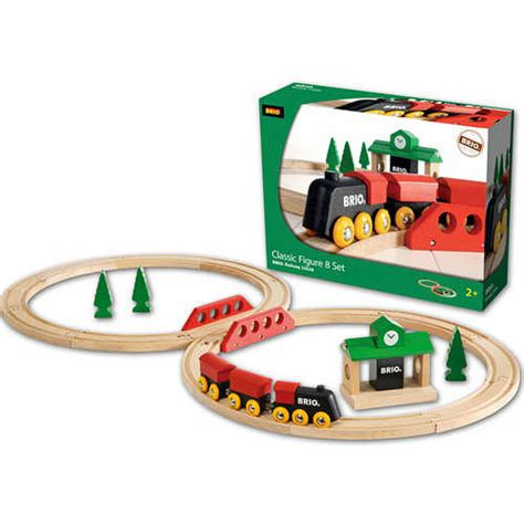 brio wooden train set brio classic figure 8 train set the granville island toy