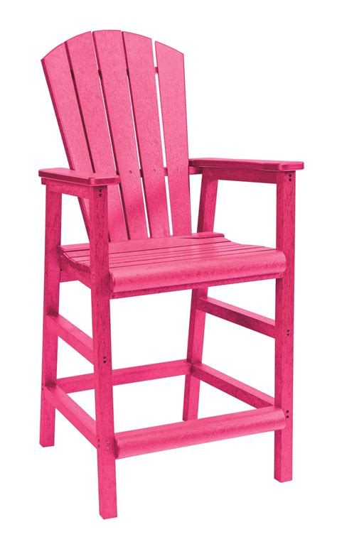 Fuschia Armchair by Generations Fuschia Adirondack Dining Pub Arm Chair From Cr Plastic C20 10 Coleman Furniture