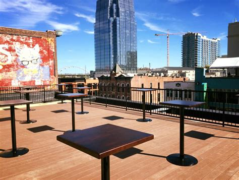 top bars in nashville l27 rooftop bar nashville guru lobster house