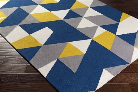 Yellow And Blue Area Rugs Surya Bns2000 Bones Yellow And Yellow And Blue Area Rugs