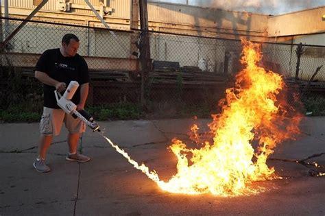 xm personal flamethrower mens gear