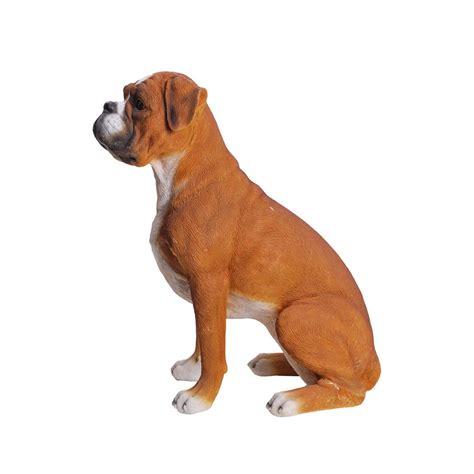 Hi Line Gift Ltd. Sitting Boxer Dog Statue   Wayfair
