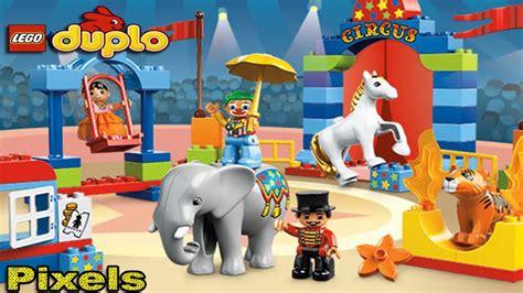 Lego Circus Show 3 lego duplo circus run the show learning