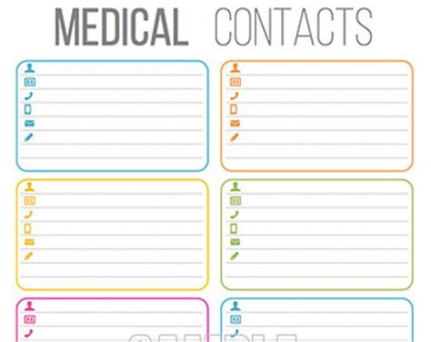 printable medical images medical printables set organizing printables editable