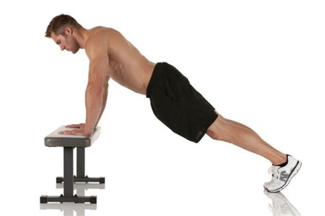bench push ups getting in shape 5 muscles that most people forget about
