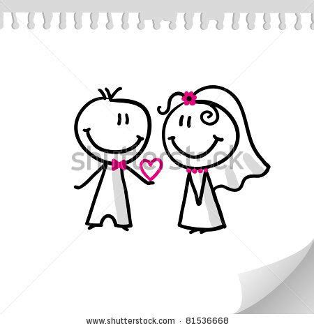 Wedding On Realistic Paper Sheet by 24 Best Caricaturas Images On