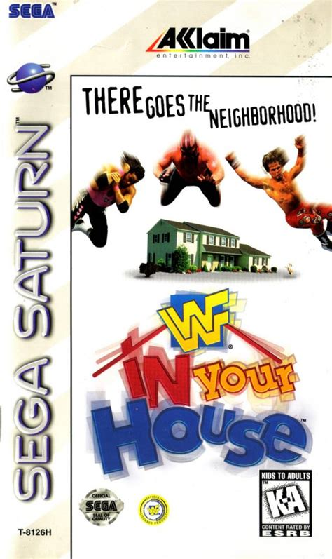 wwf in your house wwf in your house sega saturn game