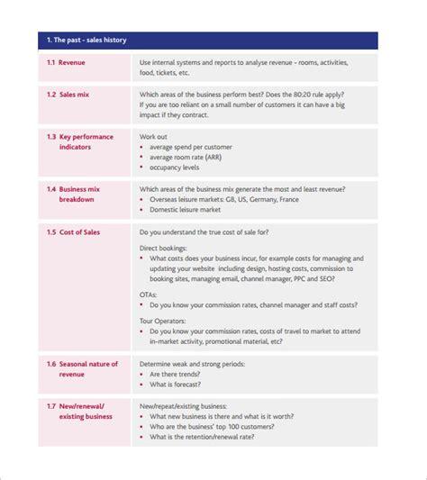 strategic action plan template 12 free sle exle
