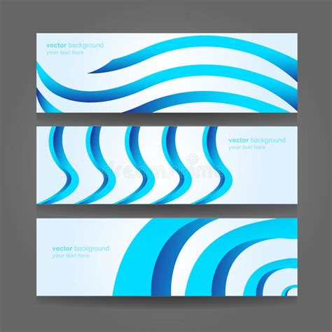 13 abstract header design images blue abstract waves abstract header blue wave vector design royalty free stock