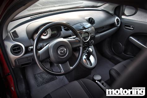 mazda 2 2013 interior 2013 mazda 2 review motoring middle east car news