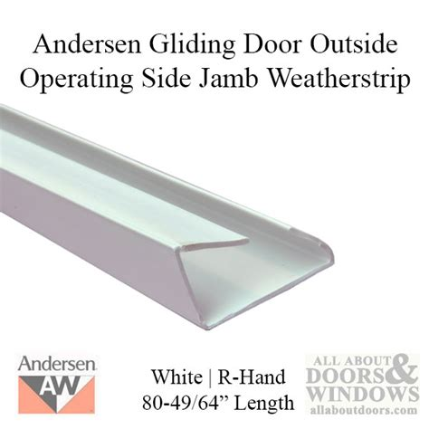 andesen windows perma shield patio door andersen perma shield gliding door side jamb