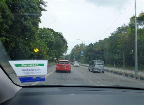 Car Rental Europcar Malaysia Zipping Around Penang In Our Europcar Malaysia Rental
