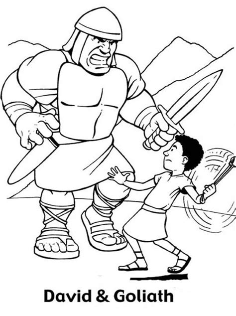 free coloring pages bible heroes 25 best david and goliath ideas on