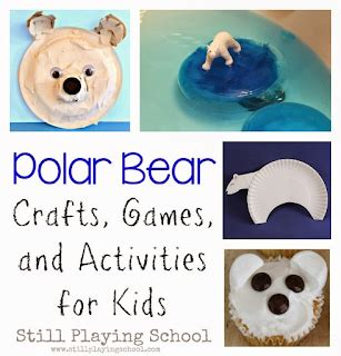 polar animals: a preschool unit | still playing school