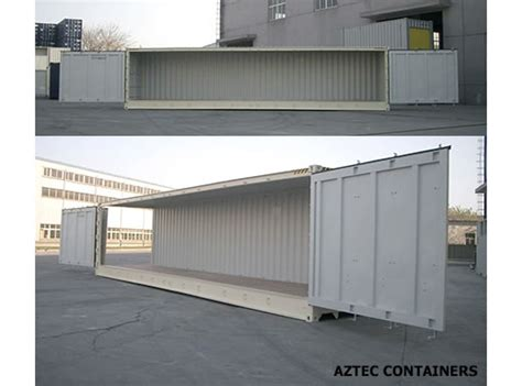 open sided storage and shipping containers for sale rent