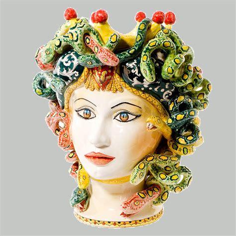 teste di ceramikale galleria fotografica teste di moro