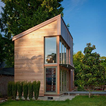 house music structure copper clad detached studio could easily be converted to a small house the garden