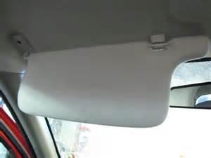 2006 2010 chevy colorado driver sun visor without mirror