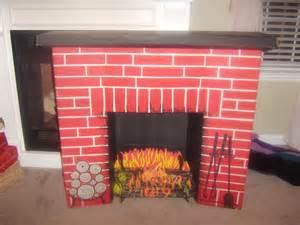 kamin aus pappe vintage cardboard fireplace