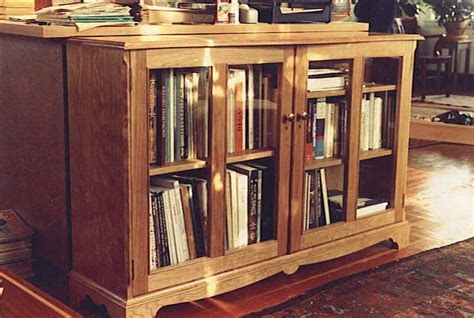cherry bookshelves bookcase