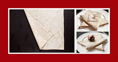 moderne tischdeko 4405 servietten falten anleitung einfach servietten falten