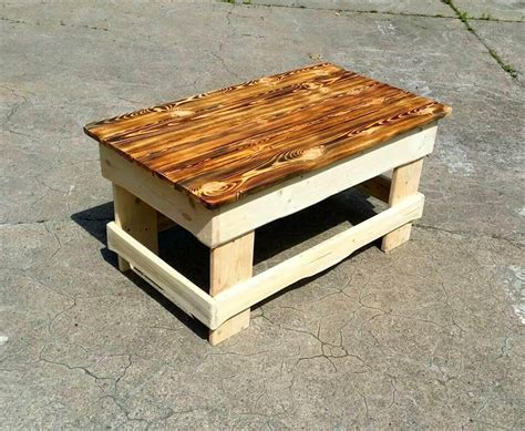 Mudroom Shoe Bench Upcycled Wood Pallet Coffee Table