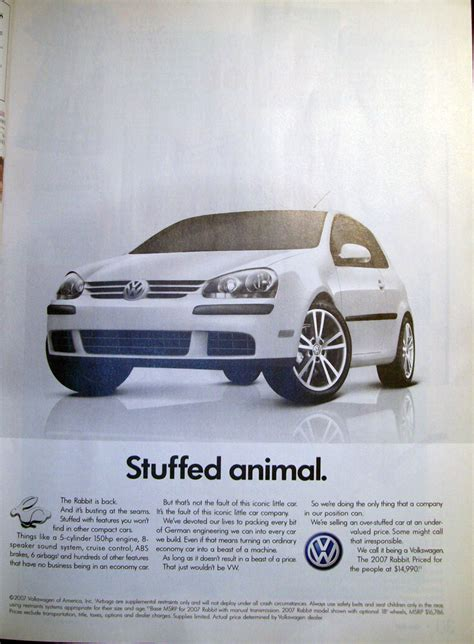The Vw Rabbit Again Takes Its Place In The Marketplace