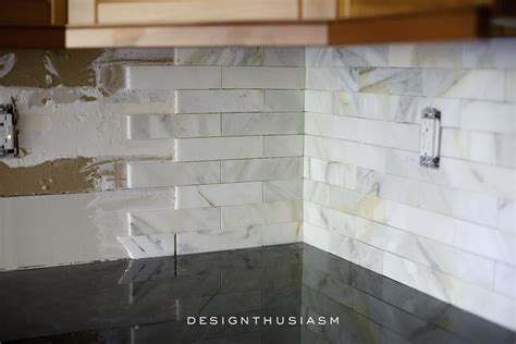 marble kitchen backsplash calcatta gold marble backsplash orc kitchen renovation