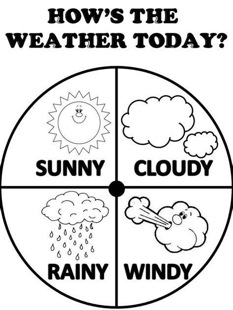 25 best ideas about weather worksheets on pinterest