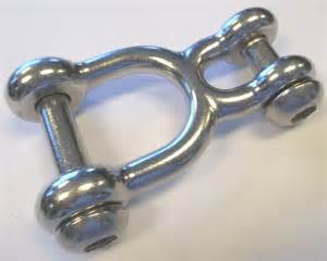 swinging shackle opentip com jensen swing h173 h shackle stainless steel