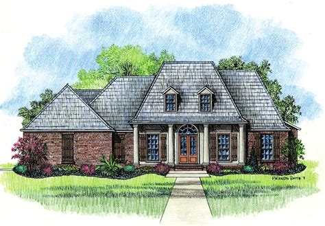 french house plans springfield country french home plans louisiana house plans