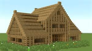 How To Build A House by Minecraft How To Build 6 Room Wooden House Youtube