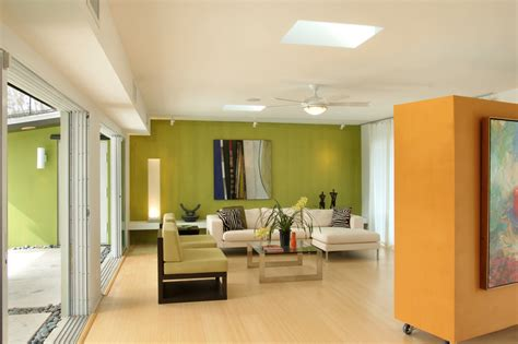 lime green wohnzimmer dazzling movable walls mode miami contemporary living room