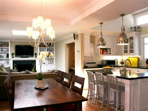 traditional dining room kitchen open floor plan gallery and photo page hgtv