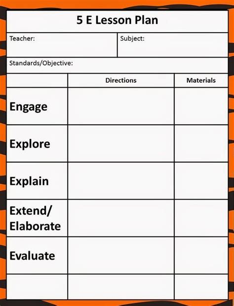 7th grade science lesson plan template with ngss ccss and michigan