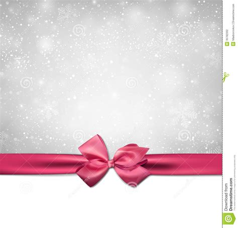 wallpaper pink bow christmas background with pink bow stock vector image