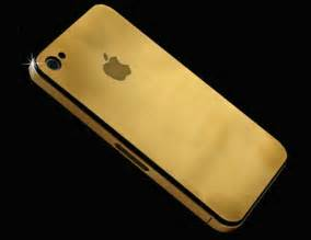 Solid Gold 24ct Solid Gold Iphone 4g Uniquely Designed And Crafted By