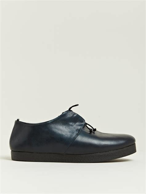 fiore collection shoes mars 232 ll fiore marcio blocco shoes in blue for lyst