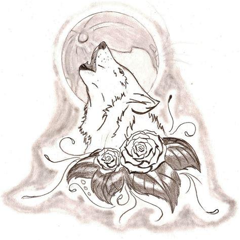 imagenes figurativas a lapiz resultado de imagen para lobos aullando dibujos a lapiz